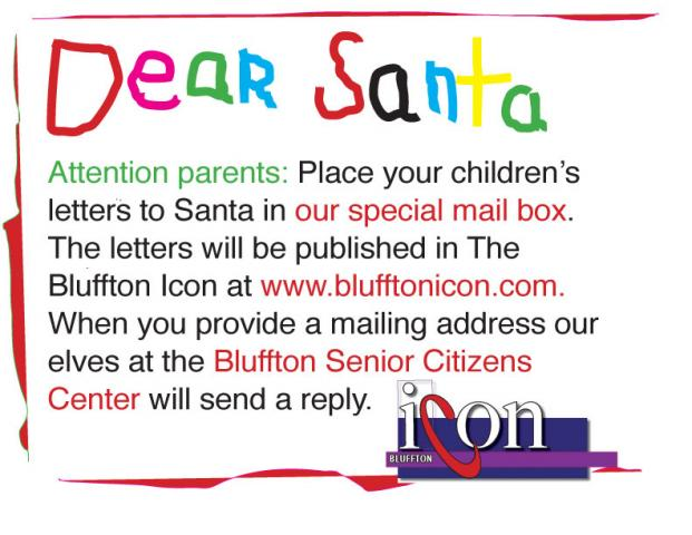 Post office, Bluffton Icon, Senior Center on Santa's payroll