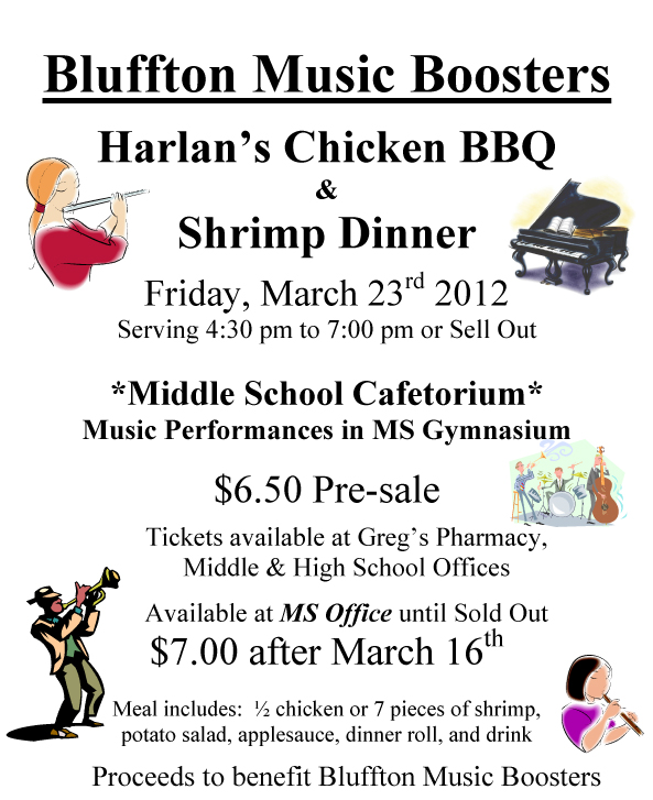 Sale News And Shopping Details March 2012: Plus A Chicken BBQ Or Shrimp