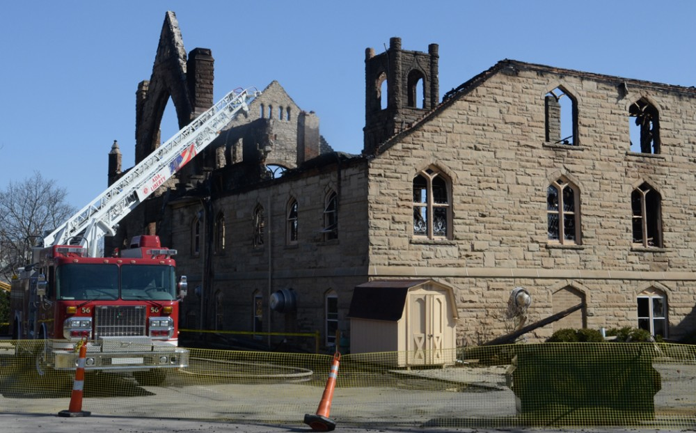 Ada First United Methodist Church Destroyed By Fire The