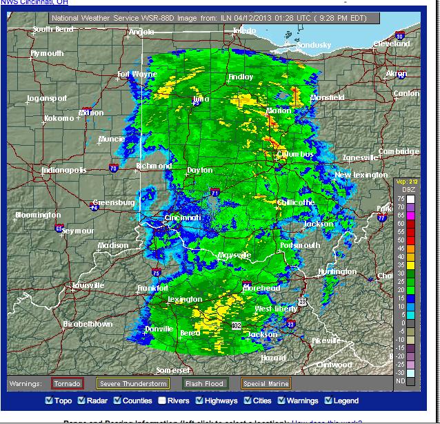 flood warnings throughout northwestern ohio the bluffton icon