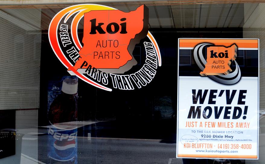 Siferd Hossellman Auto Parts Store Relocates In Former S K Location The Bluffton Icon