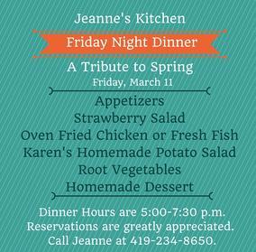 Jeanne\'s Kitchen has \