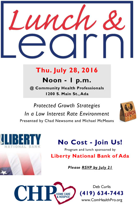 Lunch and Learn - school.thesmithlife.com
