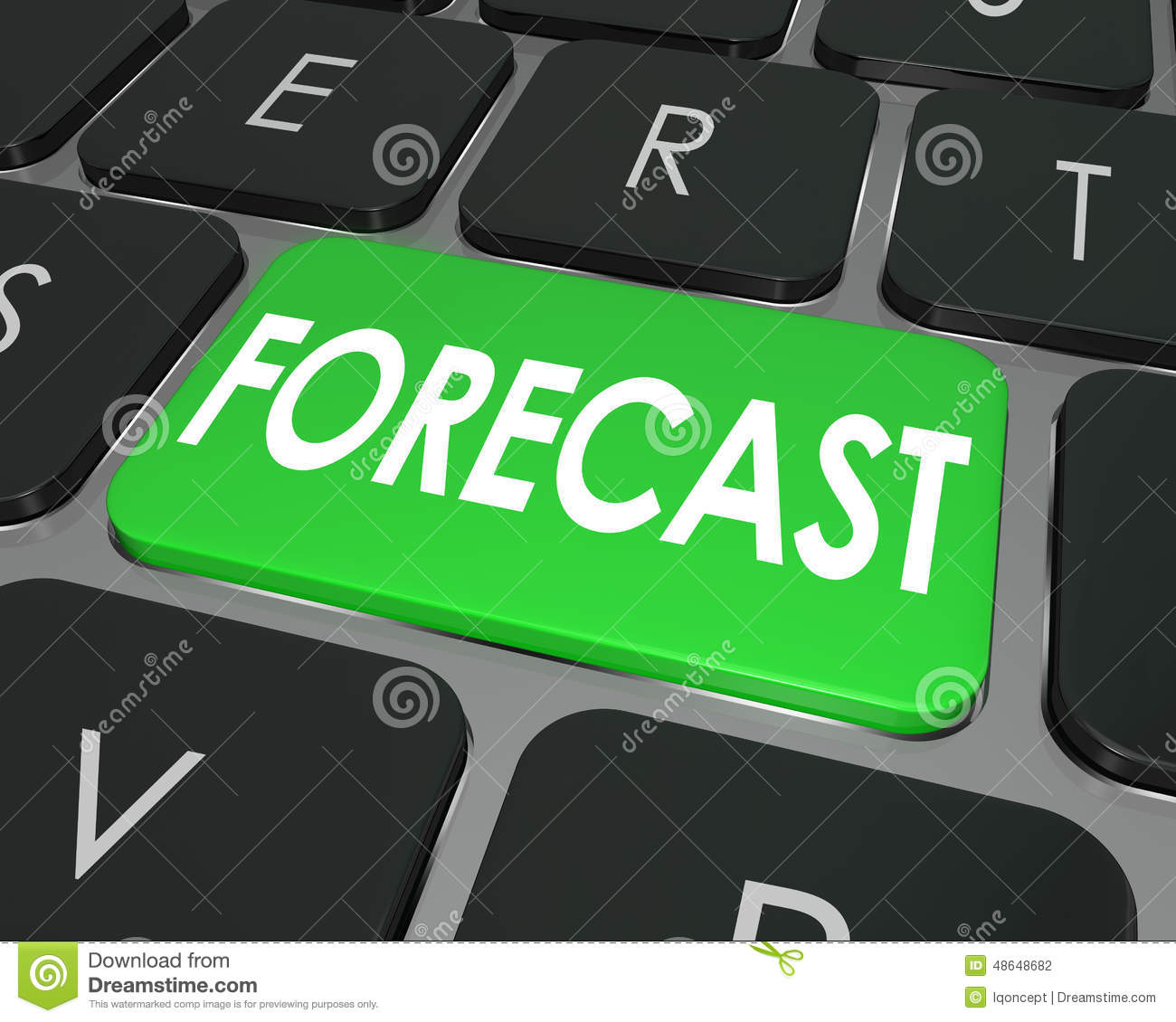 how to work out a budget forecast