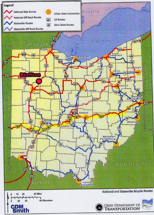 ODOT long-range bike route plan will begin this spring   The ...