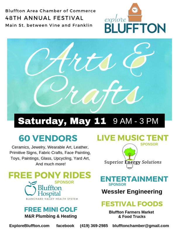 It S Arts And Crafts Weekend The Bluffton Icon