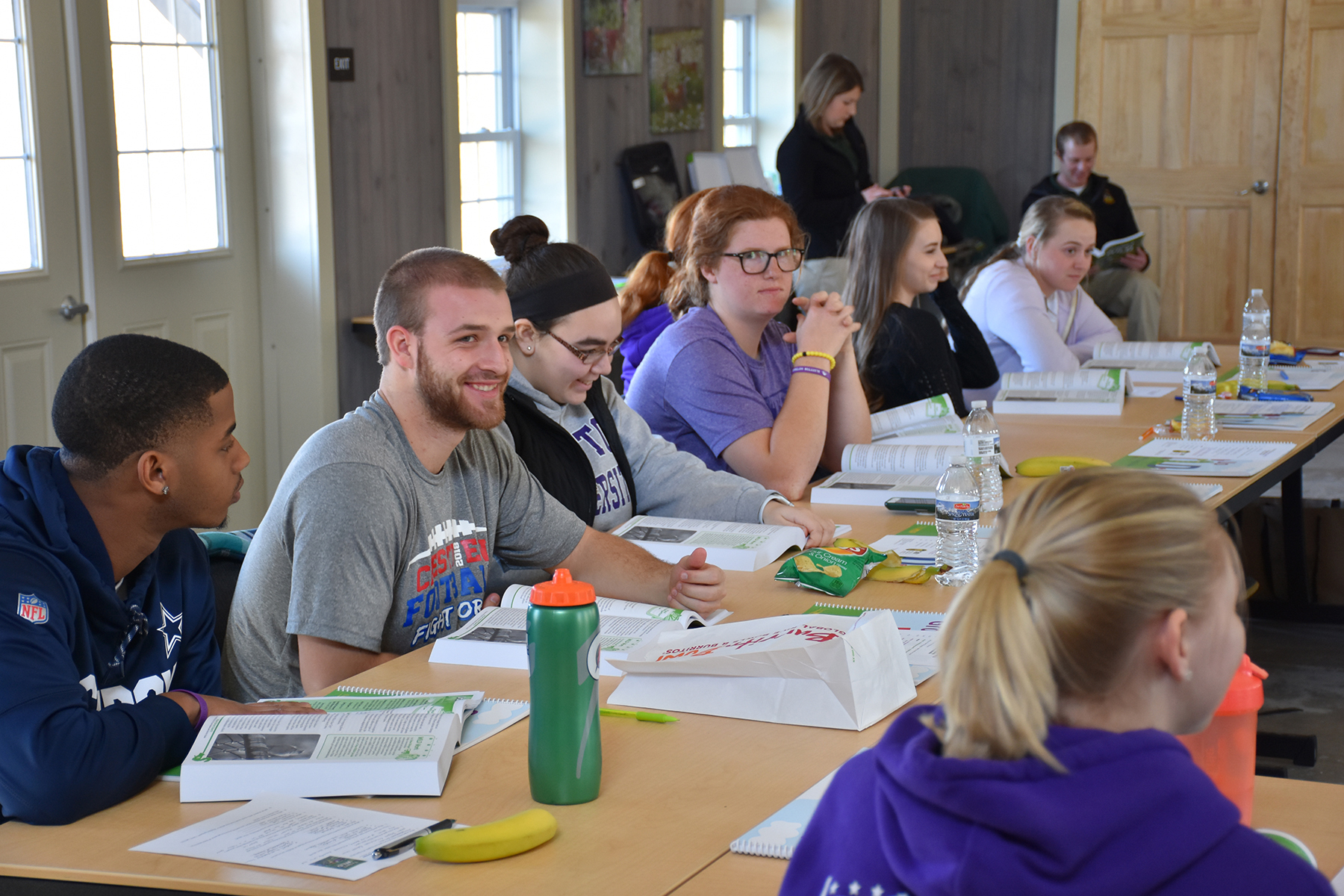 Education majors utilize Moyer Nature Center for training   The