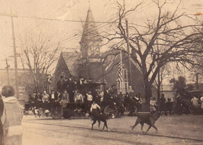 92 years ago today in Bluffton