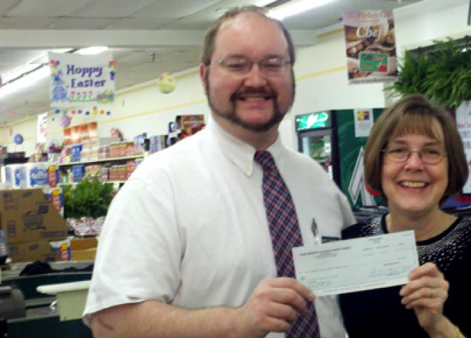 Community Markets supports food pantry