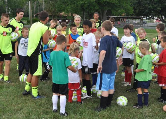 Bluffton's world cup