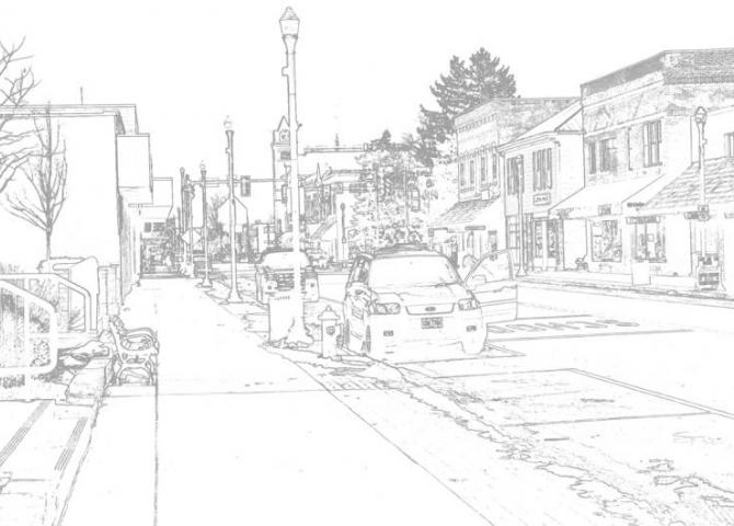 X-Ray vision of Main Street