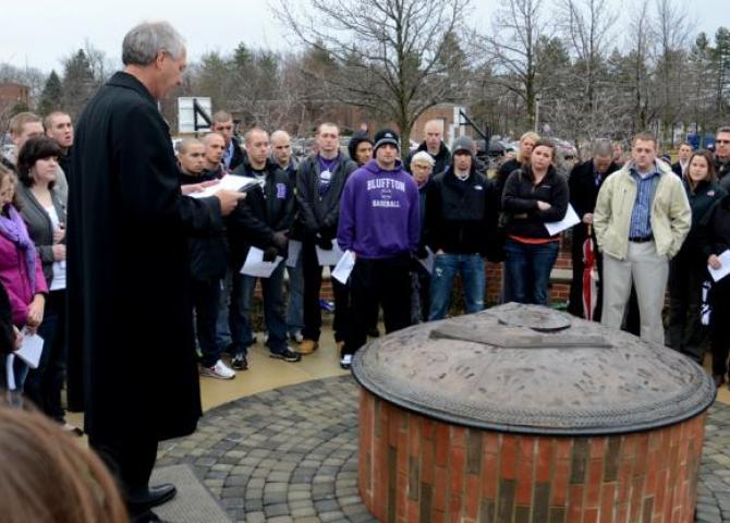 Bluffton remembers