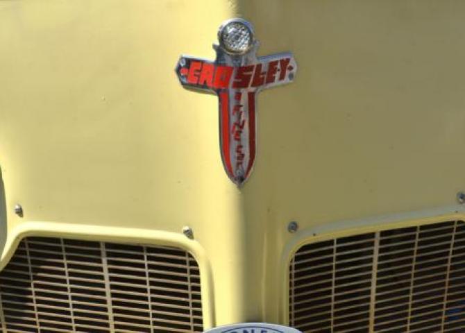 Post-war classic car