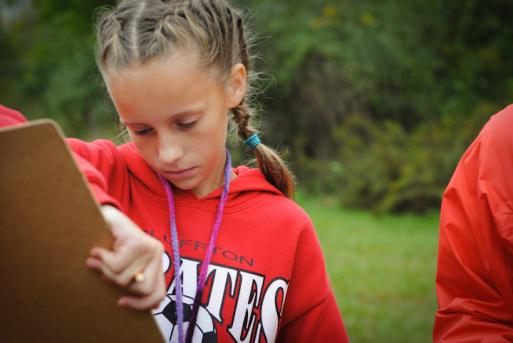 It's school outdoors for Bluffton 7th graders | The Bluffton
