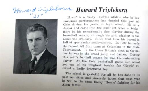 Forgotten Bluffton: Howard Triplehorn was the first Pirate ...