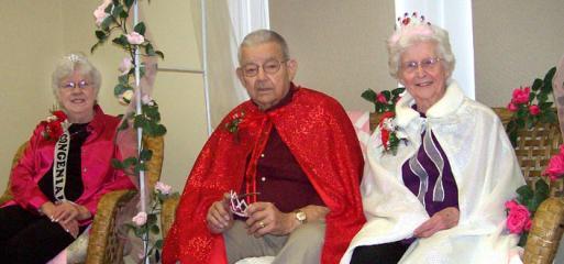 1-15-10 Maple Crest Valentine's Day royalty