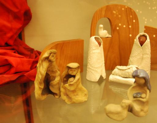 Nativities at the library