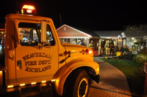 Emergency departments called to Richland Manor