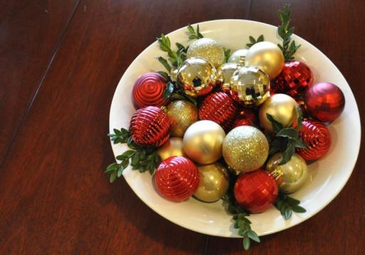 Plate of holiday goodies