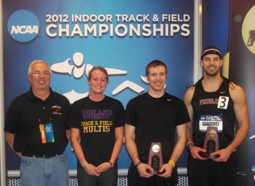 Shockey 2012 NCAA Division II national champion pole vaulter