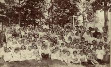 Methodist picnic circa 1891