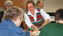 Community dinner at Senior Citizen Center