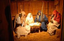 Baptist live nativity