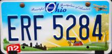 New look for Ohio license plates