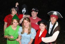 Peter Pan and friends