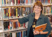 Bluffton Public Library's new director, Cindi Chasse