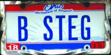 B STEG belongs to Bluffton University student Brittany Stegmaier.