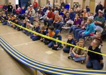 View of 2010 pinewood derby