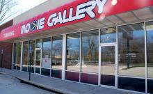 Groves will temporarily relocated in the former Movie Gallery