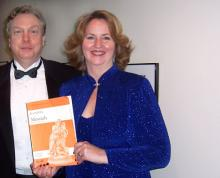 Julia and Jerry Szabo backstage at Carnegie Hall