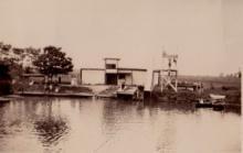 Bluffton Buckeye swimming pool circa 1920s