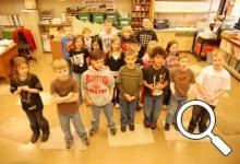 Bev Stockman's second graders