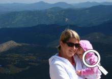 Sarah Schaaf McCombs and her daughter, Carys McCombs