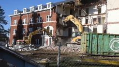 Lincoln Hall demolition 12 19 18