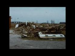 bluffton ohio palm sunday tornado, april 1965