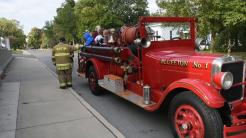 Fire truck ride 2019